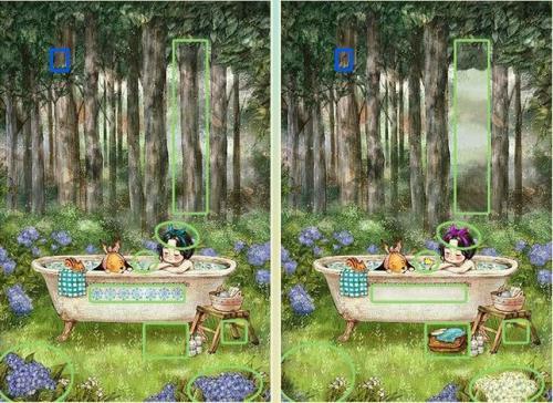 5 отличий онлайн девочка с собакой в ванне в лесу картинка ответы.jpg