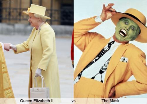Королева Елизавета  Маска Queen Elizabeth II vs The Mask.jpg