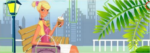 5 отличий онлайн девушка на скамейке пальма.jpg