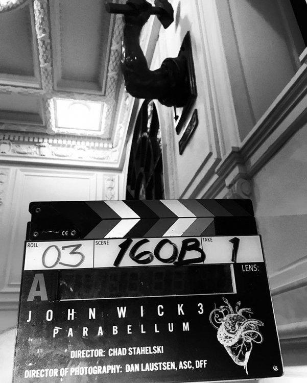 Джон Уик 3 / John Wick III съёмки