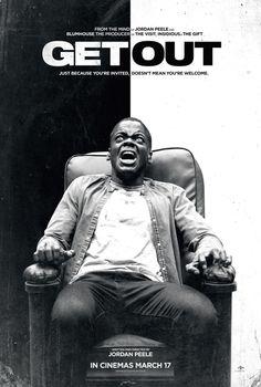 Прочь постер фильма / Get Out movie poster