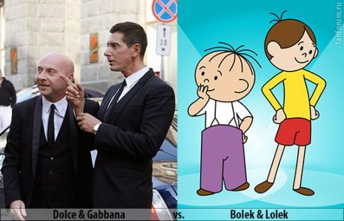 Дольче и Габбана  и Болек Лелек. Dolce Gabbana vs Bolek Lolek.jpg