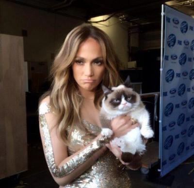 Jennifer Lynn Lopez and Grumpy Cat.jpg