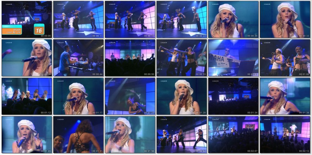 SYLVER - Livin' My Life, live at Top Of The Pops 2003
