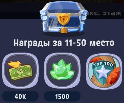 "Награда за ТОП 100 события ""Башня Арбокэтум / Arbocatum Tower"""